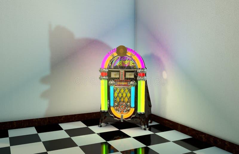jukebox ilustração do vetor
