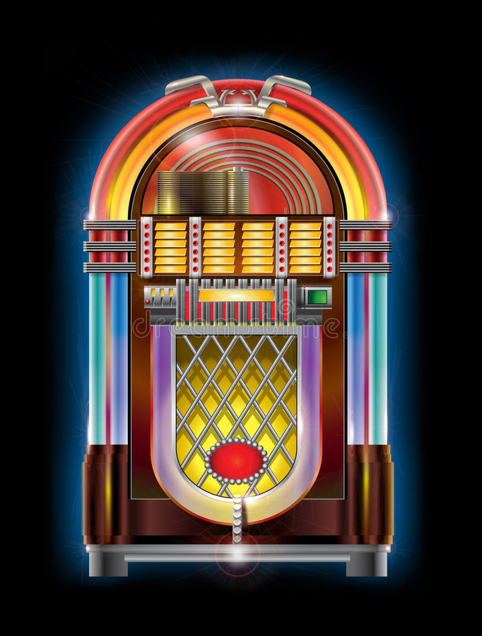 Jukebox vector illustration