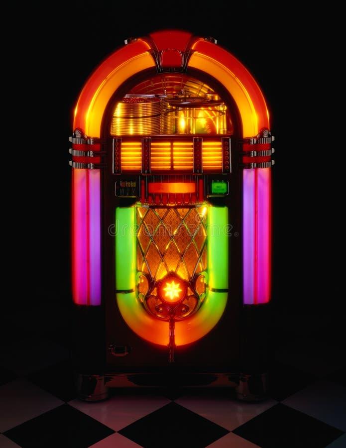 Jukebox imagem de stock