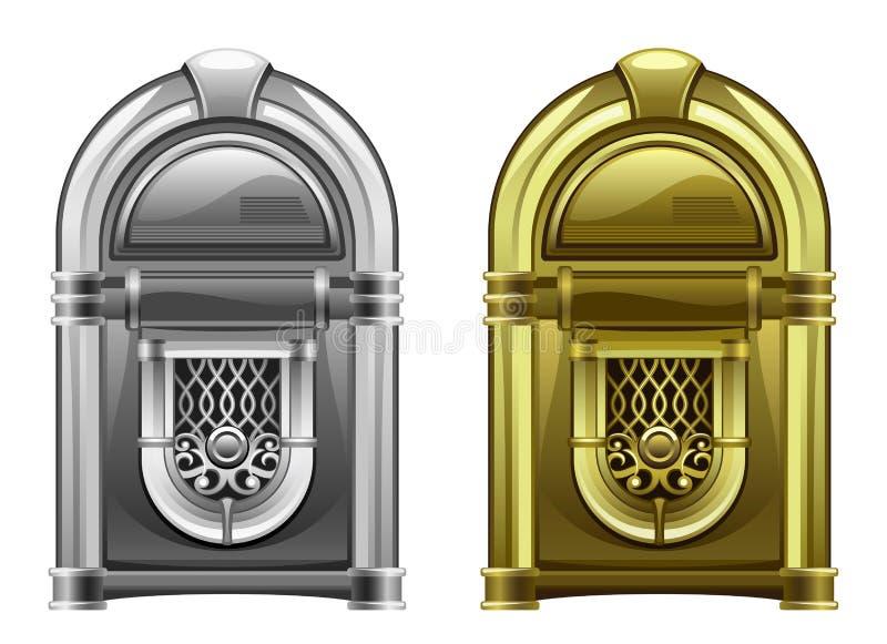 jukebox ilustração stock