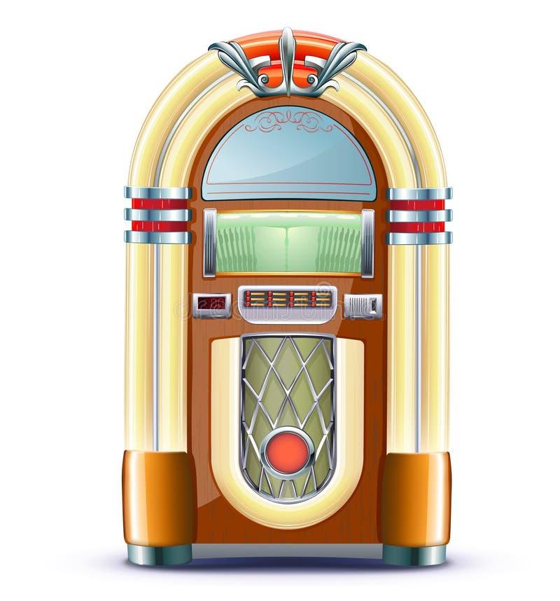 Jukebox Classico Fotografia Stock