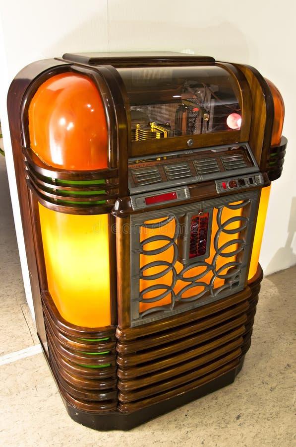 Jukebox do vintage fotografia de stock royalty free