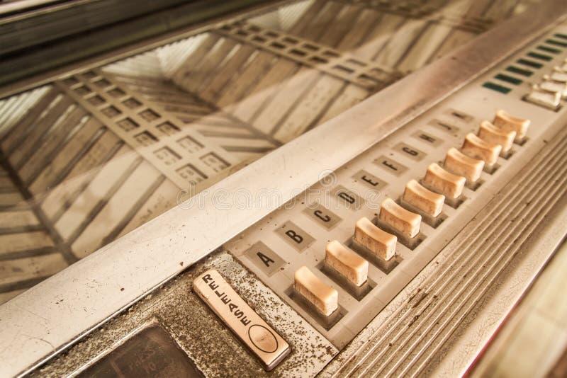 Jukebox do vintage imagem de stock