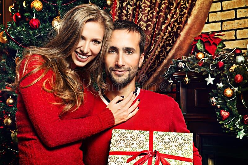 Julöverraskning arkivbild