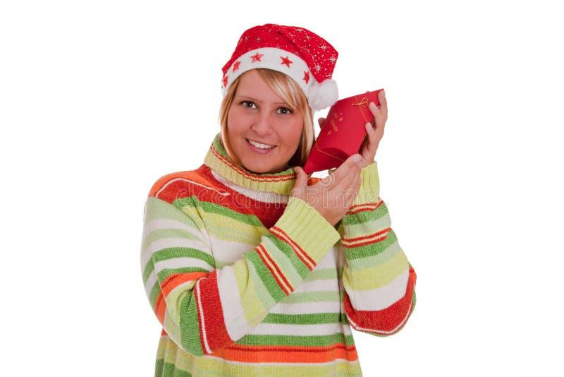 julöverrrakning royaltyfri bild