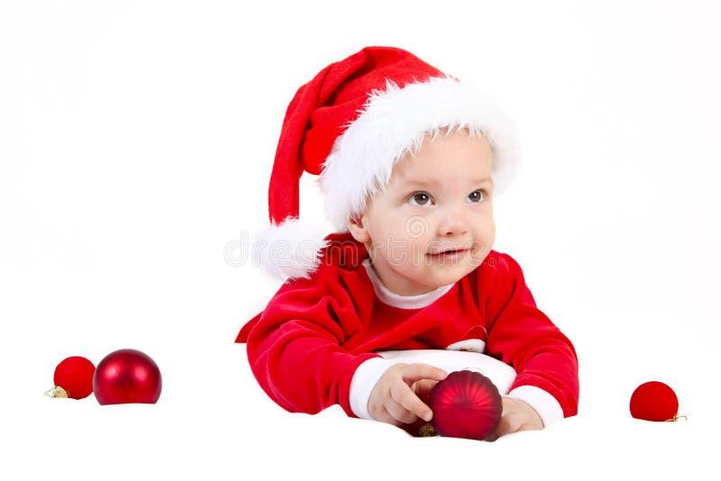 Jul behandla som ett barn gåvan royaltyfria foton