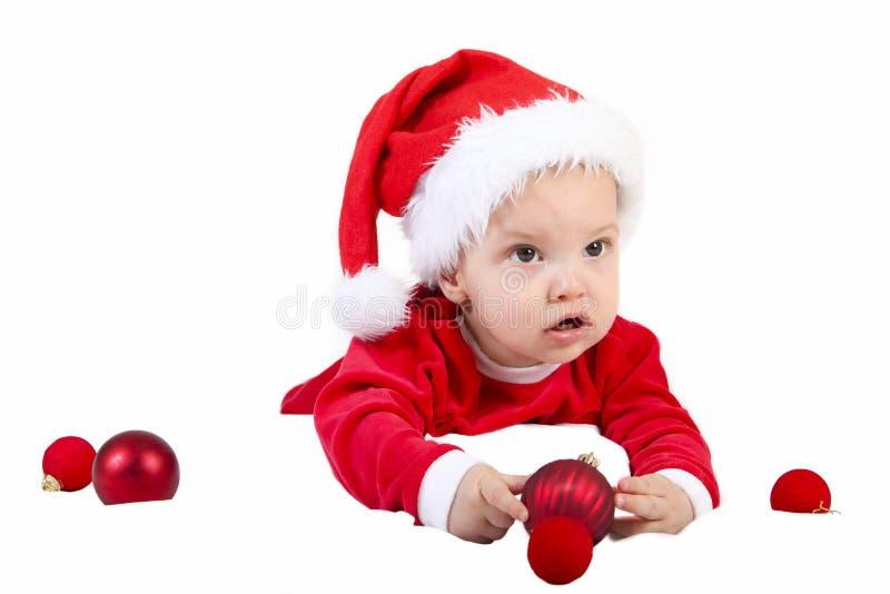 Jul behandla som ett barn gåvan royaltyfri foto