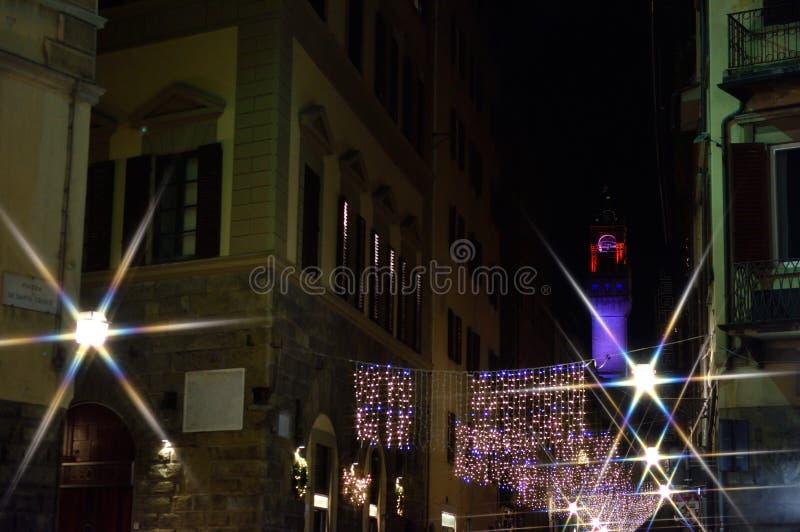 Download Jul i den Florence droppen arkivfoto. Bild av italy - 106838500