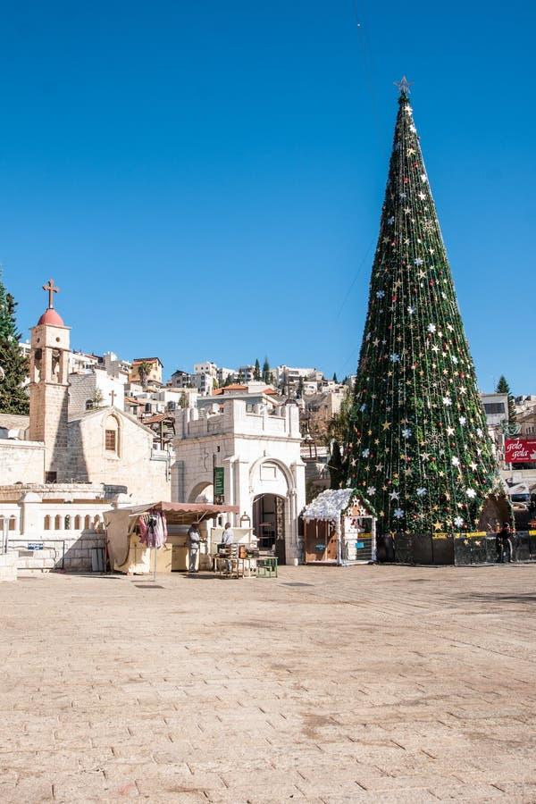 Jul i Nazareth royaltyfri bild