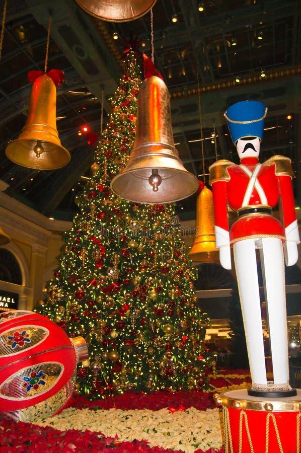 Jul i Toyland arkivfoton