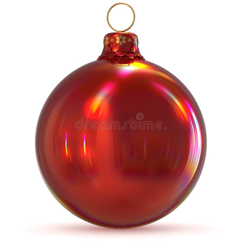 Jul klumpa ihop sig den röda souvenir för helgdagsaftonen för ` s för det nya året för struntsakgarnering stock illustrationer