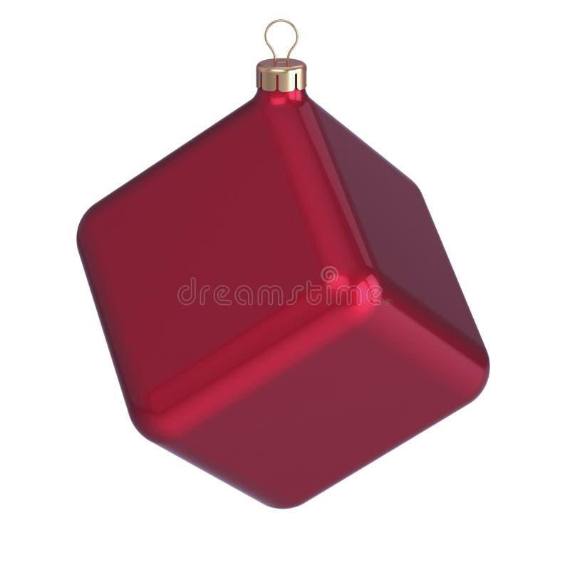 Jul klumpa ihop sig struntsaken för helgdagsaftonen för ` s för det nya året för kuben den beställnings- icke-standard royaltyfri illustrationer