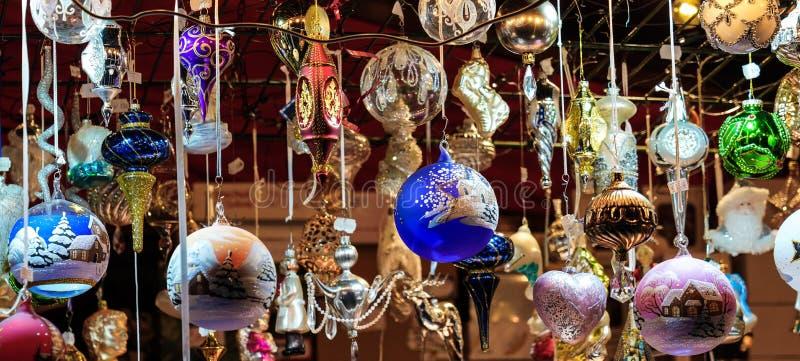 Jul marknadsf?r i Munich, Bayern, Tyskland, Europa royaltyfria bilder