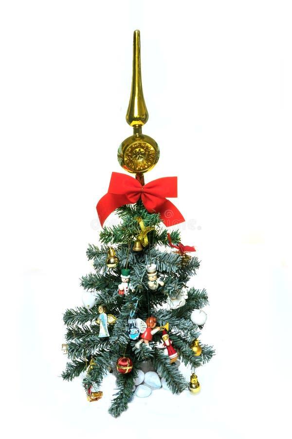 jul min version för portföljtreevektor isolate royaltyfria foton