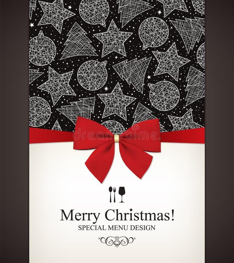 Jul & nytt år stock illustrationer