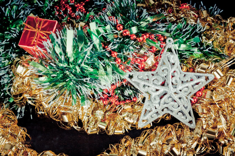 Jul och feriebakgrund arkivbild