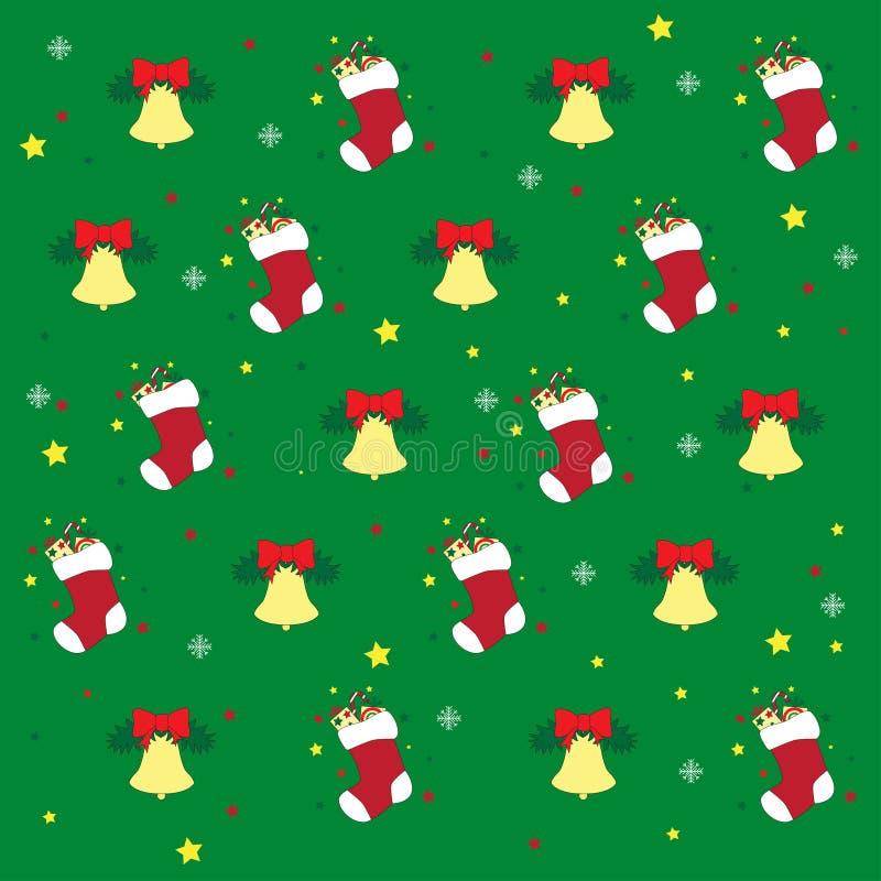 Jul och symboler för nytt år arkivbilder