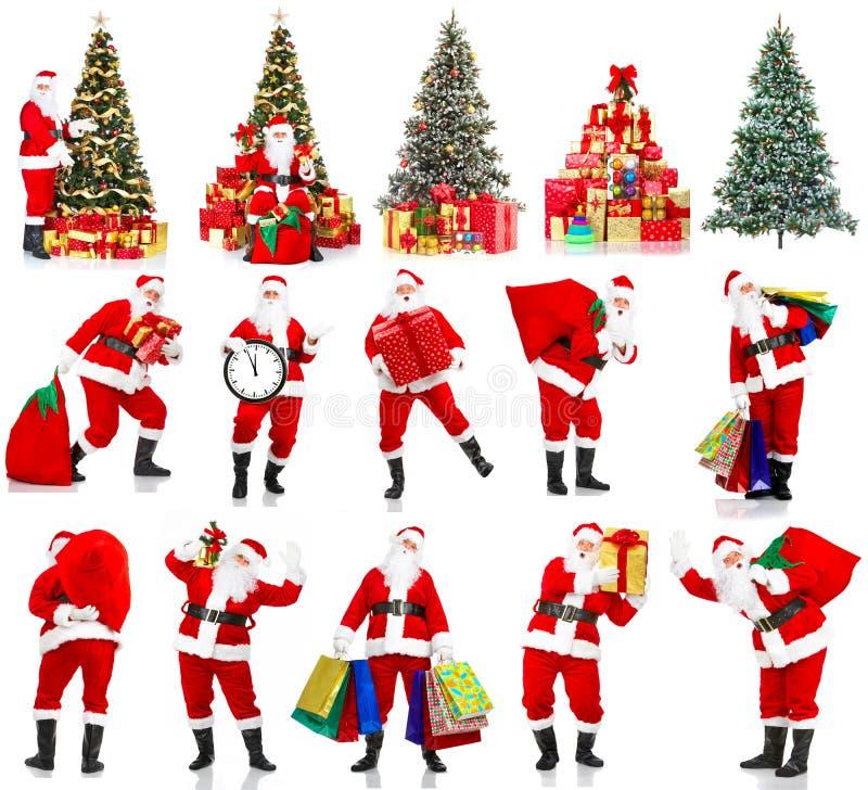 jul santa fotografering för bildbyråer