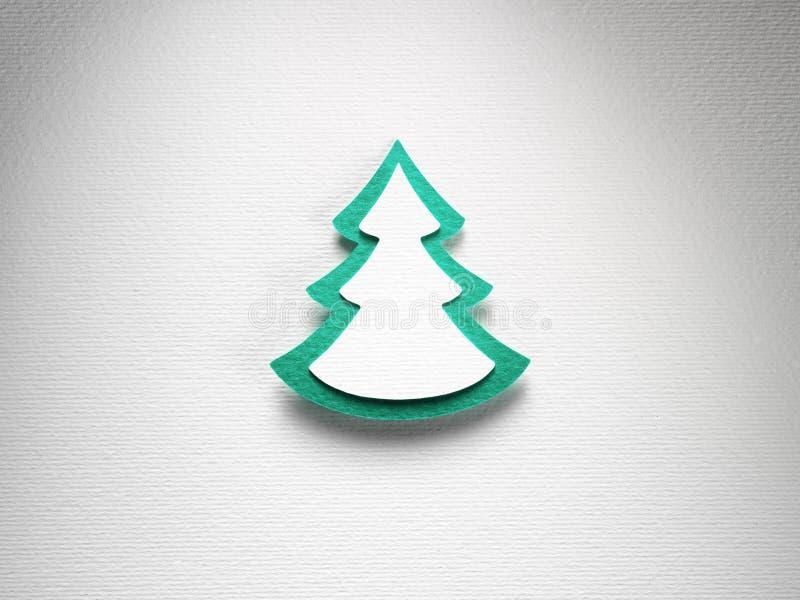 Jul skyler över brister bakgrundstextur, papercrafttema royaltyfri bild
