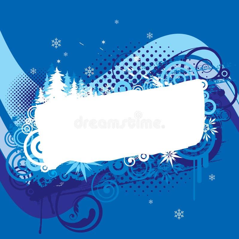 Jul slösar bakgrundsdesign stock illustrationer