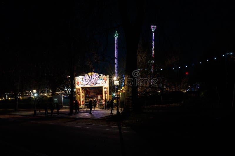 Jul som är ganska i Hyde Park i 2016 arkivbilder