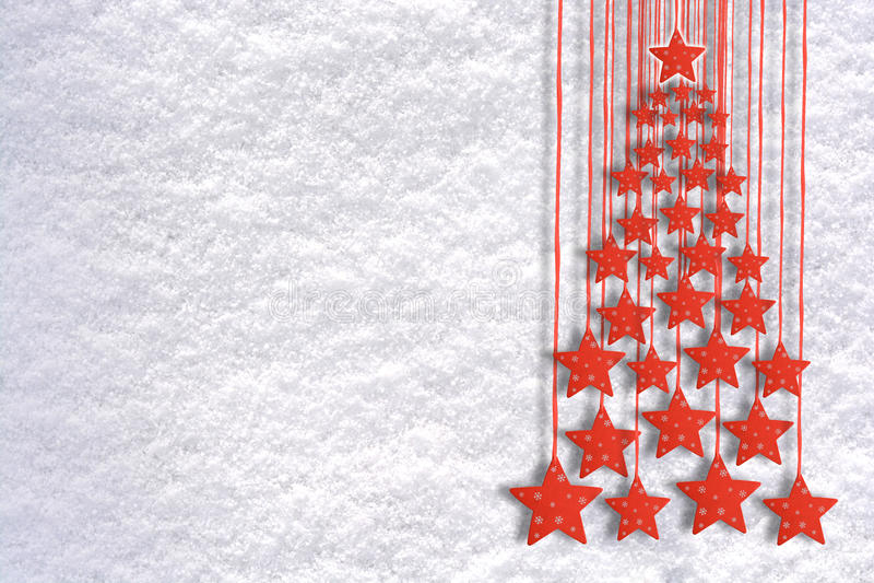 Jul som hälsar bakgrund med trädgarneringobjekt royaltyfri bild