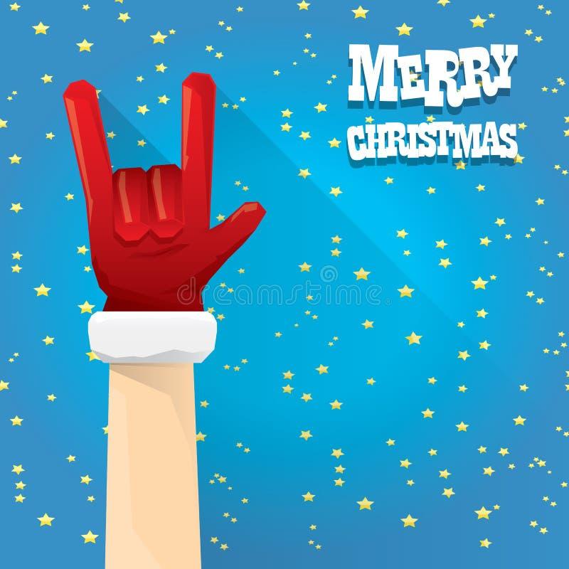 Jul vaggar kortet för n-rullhälsningen stock illustrationer