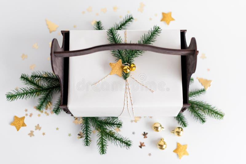 Julbakgrund med royaltyfri bild