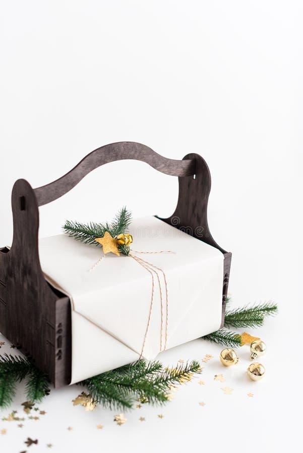 Julbakgrund med fotografering för bildbyråer