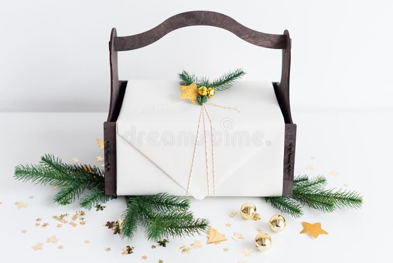 Julbakgrund med arkivbilder