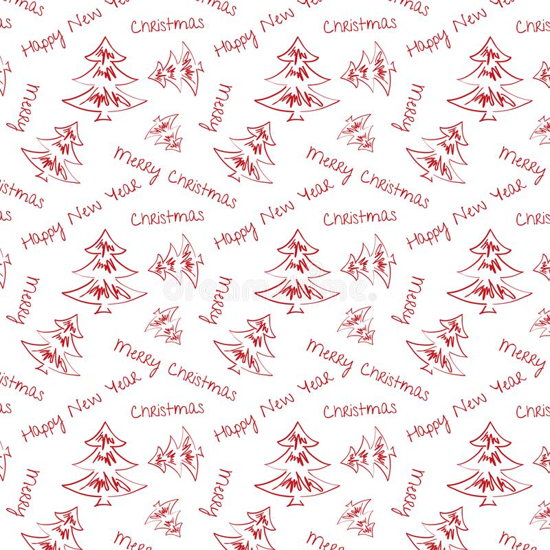 Julbakgrund med garneringar för jul decorations arkivbild