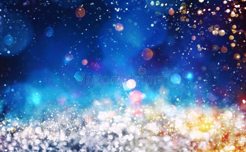 Julbakgrund med sparkly kristaller för silver royaltyfria bilder