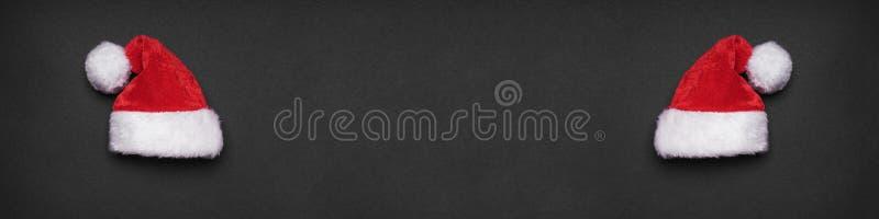 Julbaner eller xmas-titelrad arkivfoto
