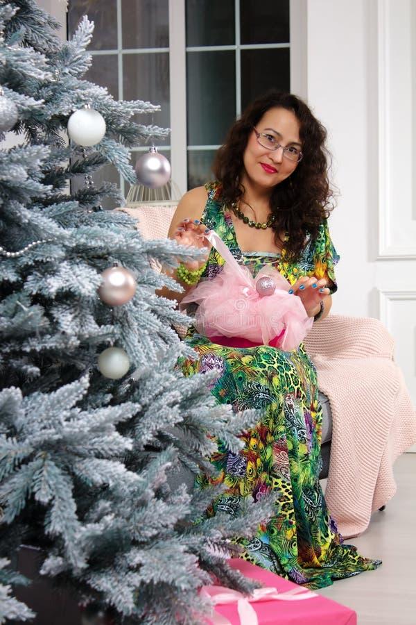 Julbegrepp royaltyfria bilder