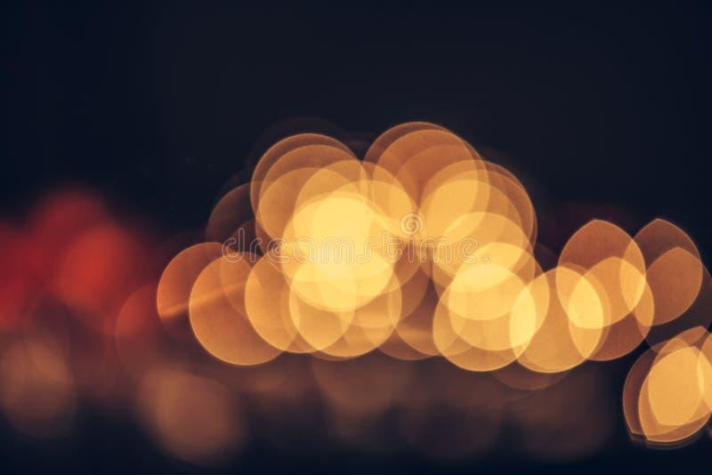 Julbokek, lätt abstrakt semesterbakgrund royaltyfri fotografi