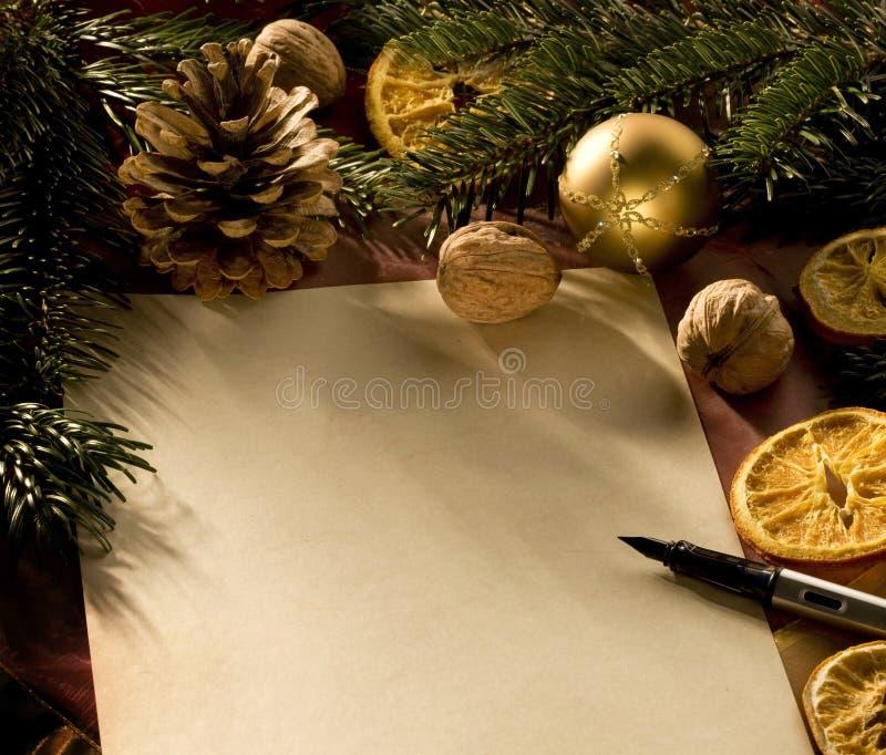 julbokstav fotografering för bildbyråer