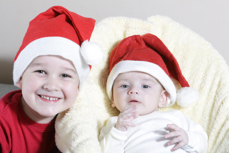 Julchilds arkivfoto