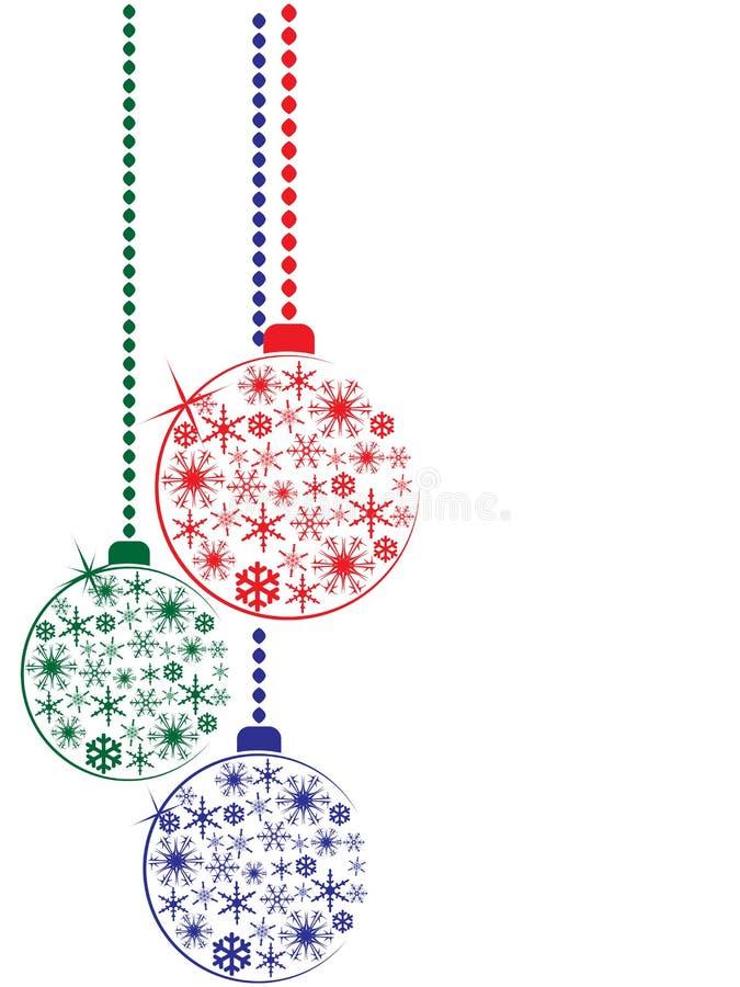 Julen klumpa ihop sig vektor illustrationer