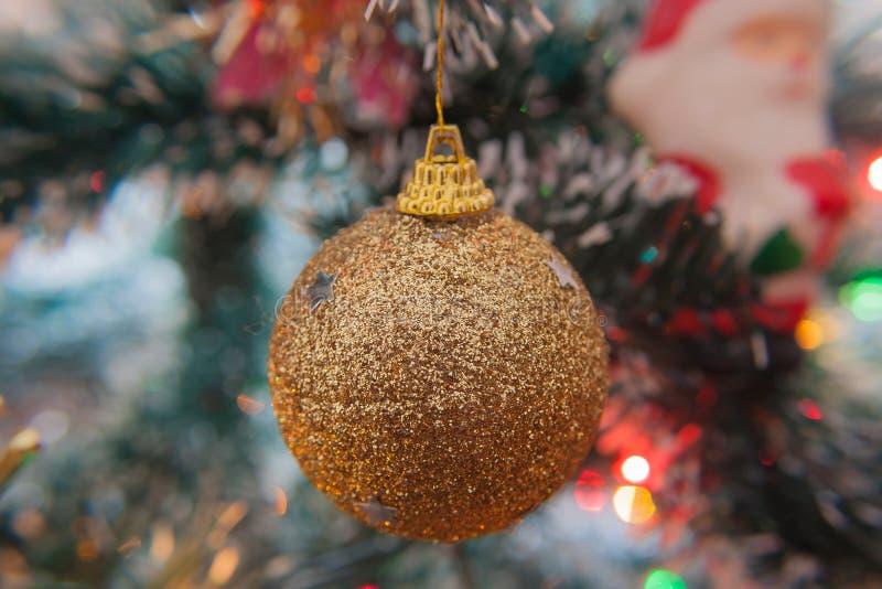 Julen klumpa ihop sig arkivbild