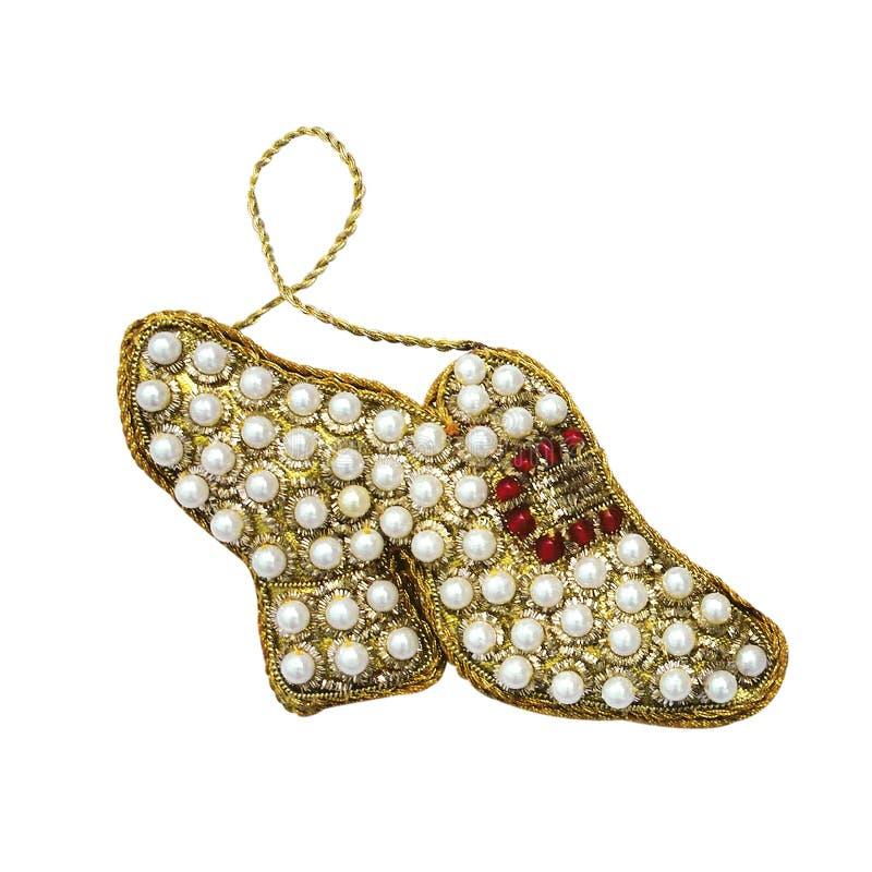 julen smyckar unikt arkivfoton