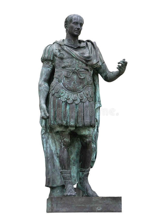 Jules César image libre de droits