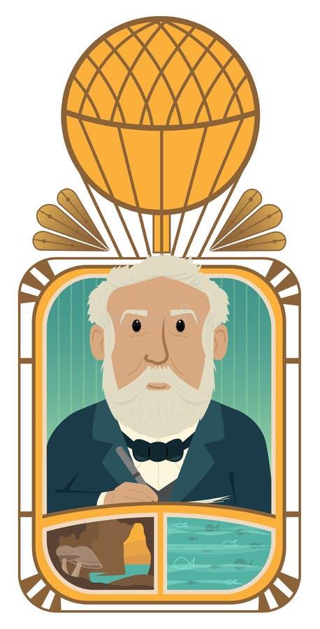 Jules Verne ilustracja