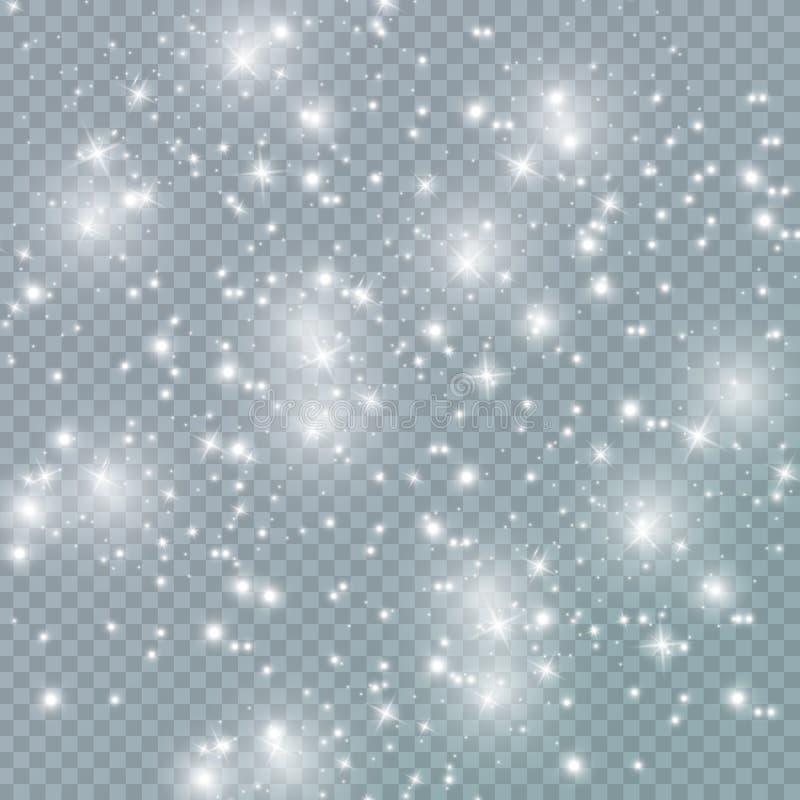 Julexponeringsdamm vektor illustrationer