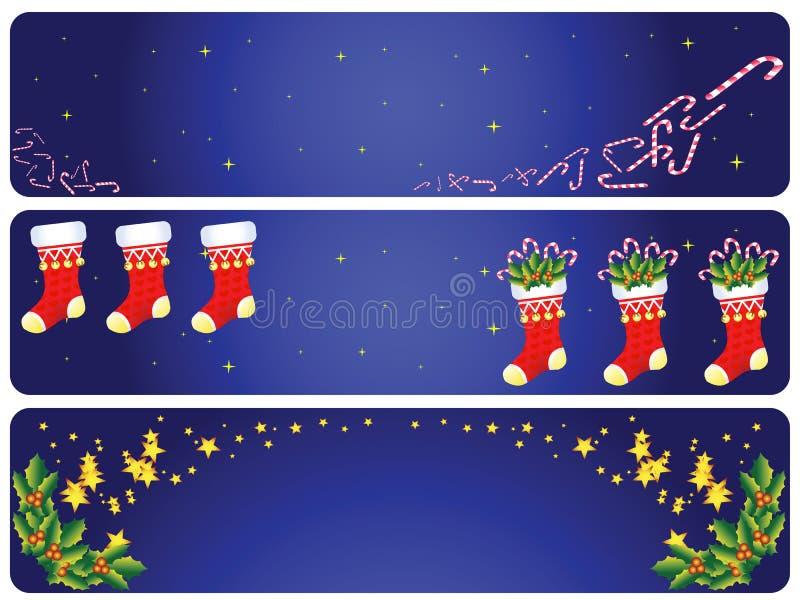 julfölje vektor illustrationer