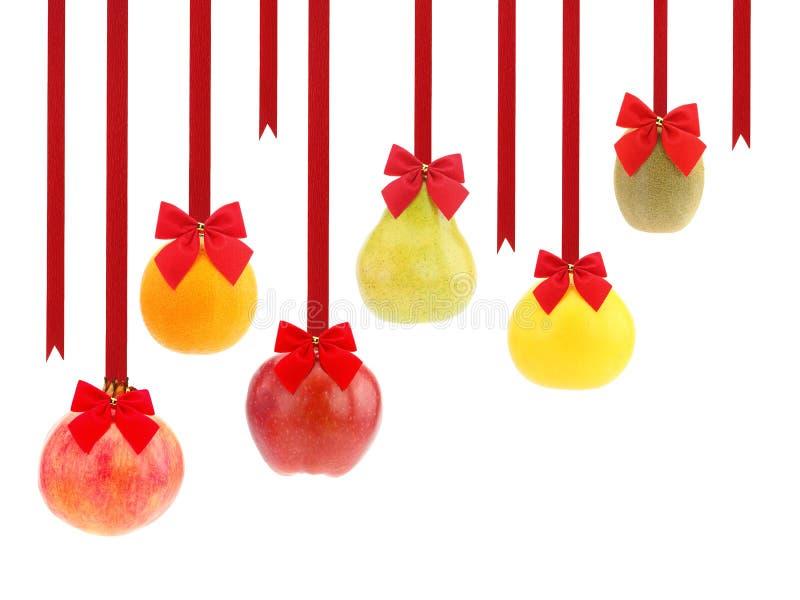 Julfrukter royaltyfri bild