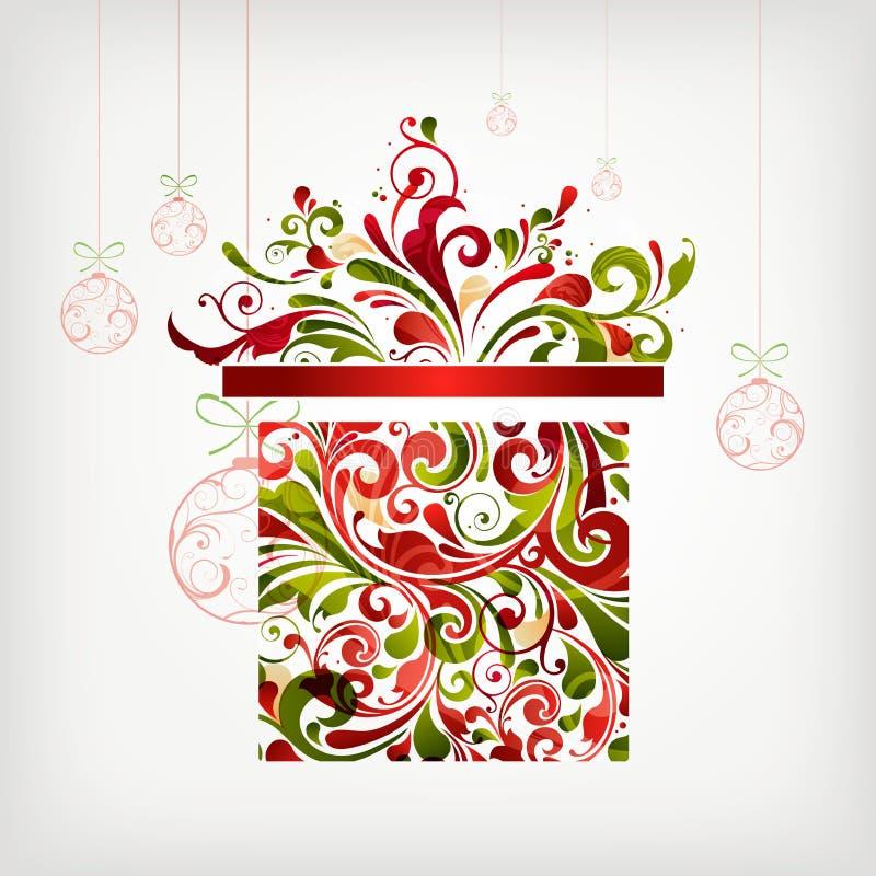 julgåva royaltyfri illustrationer