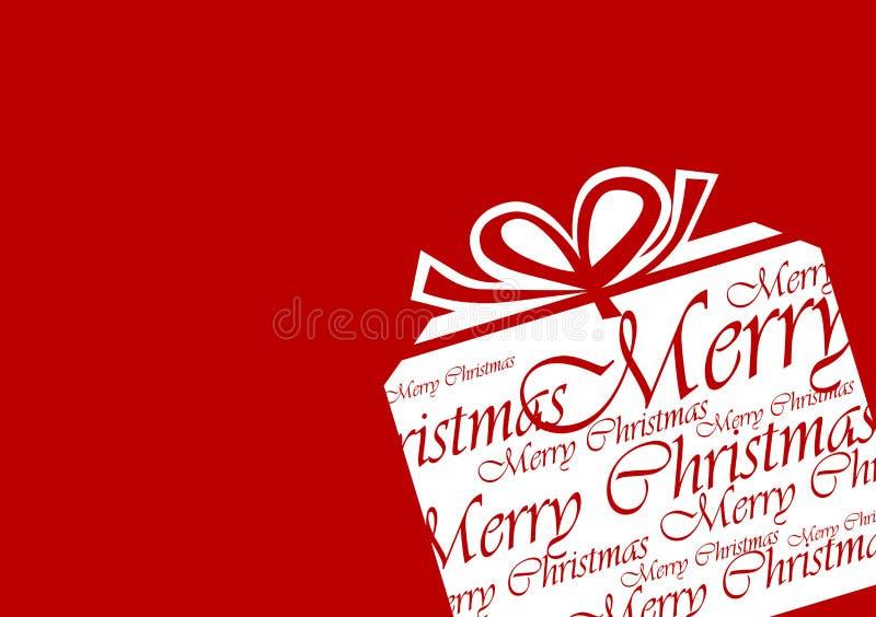 julgåvadiagram royaltyfri bild