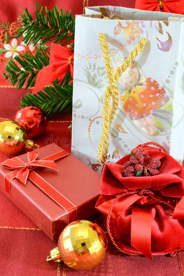 julgåvor royaltyfri bild