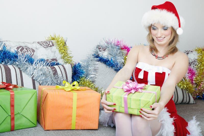 julgåvor royaltyfria foton
