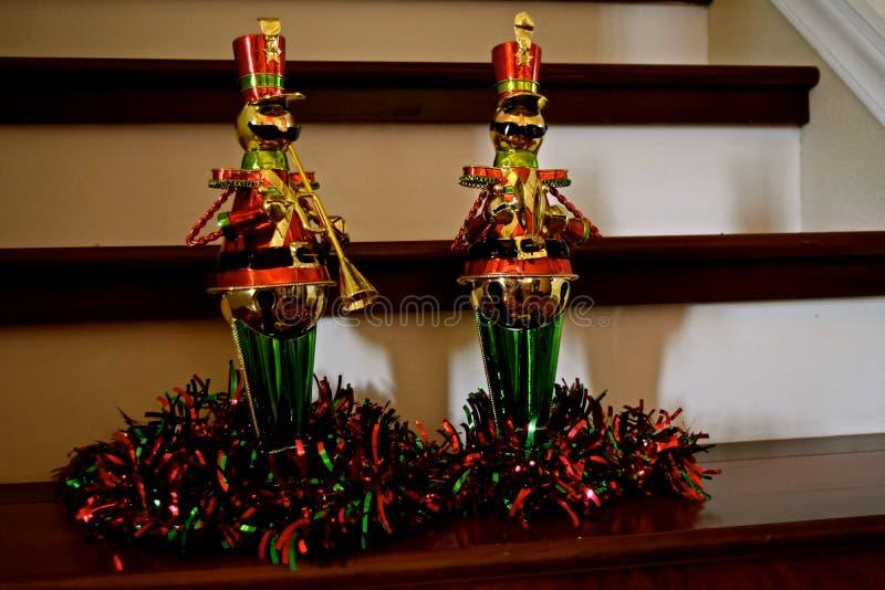 Julgarnering - nötknäppare fotografering för bildbyråer